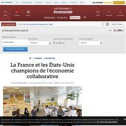 La France et les États-Unis champions de l'économie collaborative