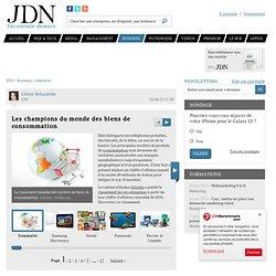 Les champions du monde des biens de consommation - Journal du Net Economie