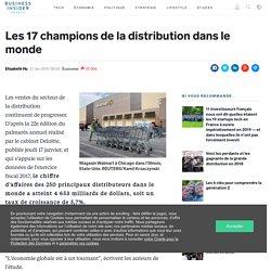 Les 17 champions de la distribution dans le monde