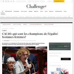 CAC40: qui sont les champions de l'égalité hommes-femmes?