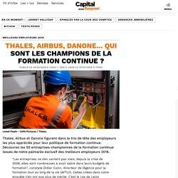 Thales, Airbus, Danone... qui sont les champions de la formation continue ?