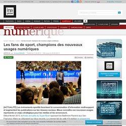 Les fans de sport, champions des nouveaux usages numériques