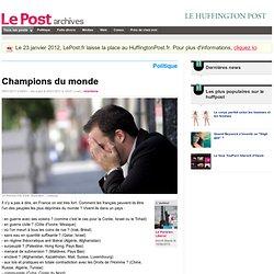 Champions du monde - Le Parisien Liberal sur LePost.fr (12:37)