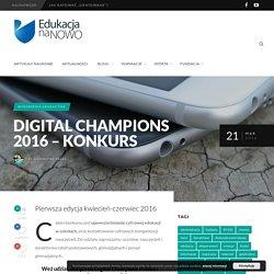 Digital Champions 2016 - konkurs