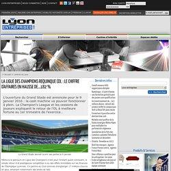 La Ligue des Champions requinque l'OL: le chiffre d'affaires en hausse de...182 %