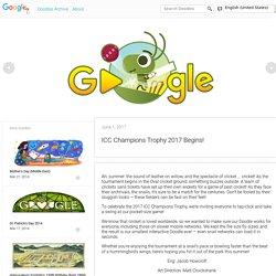 ICC Champions Trophy 2017 Begins!