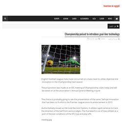 Championship poised to introduce goal-line technology
