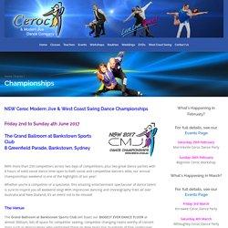Championships - Ceroc and Modern Jive Dance Company