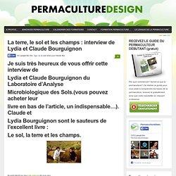Interview AUDIO Lydia et Claude Bourguignon