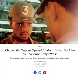 Chance the Rapper Opens Up About What It's Like to Challenge Kanye West