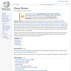 Chance Thomas
