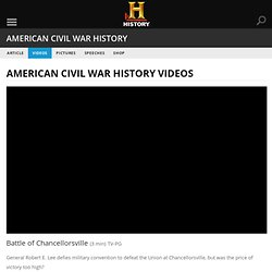 Battle of Chancellorsville — History.com Video