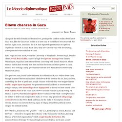 Blown chances in Gaza