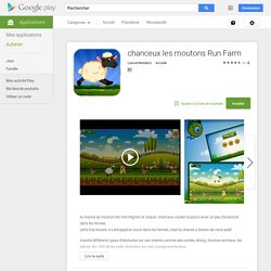 chanceux les moutons Run Farm – Applications Android sur Google Play