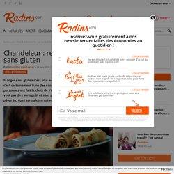 Chandeleur : recette des crêpes sans gluten