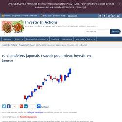 19 chandeliers japonais à connaître pour les débutants en Bourse