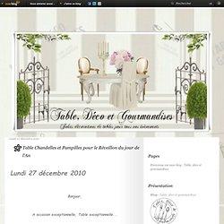 Table Chandelles et Pampilles pour le Réveillon du jour de l'An - Table, déco et gourmandises