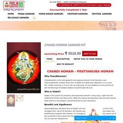 Chandi Homam Samagri Kit