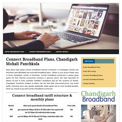 Connect Broadband Plans Chandigarh Mohali