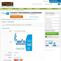 Chandigarh Green Business - Connect Broadband Chandigarh - Green Business