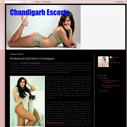 Professional Call Girls In Chandigarh