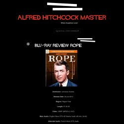 Alfred Hitchcock Master