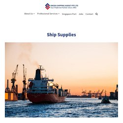 Track the Best Ship Supply Companies in Singapore