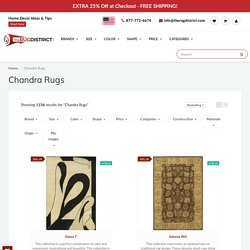 Buy Chandra Rugs Online at Discounted Prices