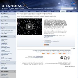 Chandra :: Podcasts