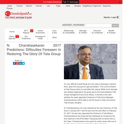 Natarajan Chandrasekaran Astrological Analysis