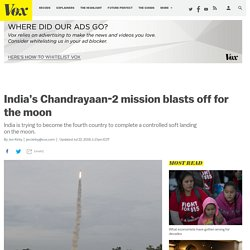 Chandrayaan-2: Indian mission blasts off for the moon