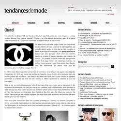 Chanel (Marque de mode)
