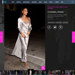 Chanel Iman from The Big Picture: Today's Hot Photos