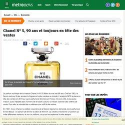 Chanel N° 5, 90 ans et toujours en tête des ventes