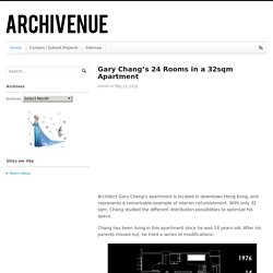 Gary Chang's 24 Rooms in a 32sqm Apartment - Archivenue