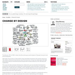 Change by Design - IDEO