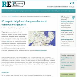 30 maps to help local change-makers and community organisers