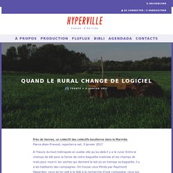 Quand le rural change de logiciel