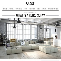 Change your look with a Retro Sofa