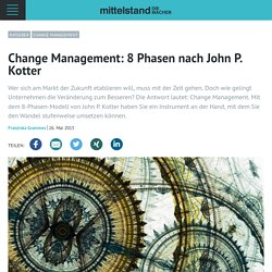 Change Management: 8 Phasen nach John P. Kotter