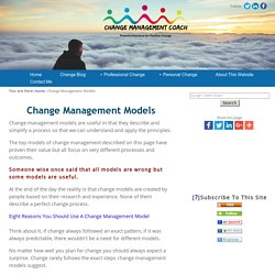 Change Management Models: A Guide to Best Practices
