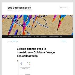 L'école change avec le numérique – Guides à l'usage des collectivités