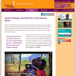 Seeds of Change: Food Security in Sub-Saharan Africa