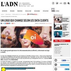 Un logo qui change selon les data clients - DATAS DATAS