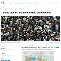 7 maps that will change how you see the world – World Economic Forum – Medium