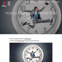 How to Change the World in an Hour - Republic of Everyone
