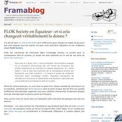FLOK Society en Équateur : et si cela changeait véritablement la donne ?