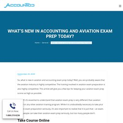 What is Changed in Aviation Exam Preparation