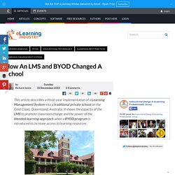 How An LMS and BYOD Changed A School
