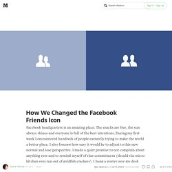 How We Changed the Facebook Friends Icon